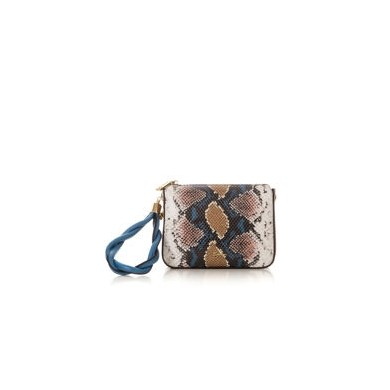 CLUTCH SODINI SAFARI GIALLA